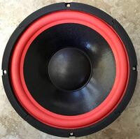 "Two Brand New 10"" Blaster Woofers"