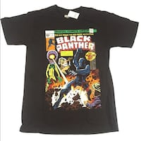 NEW: Black panther marvel comic book cover XL t-shirt