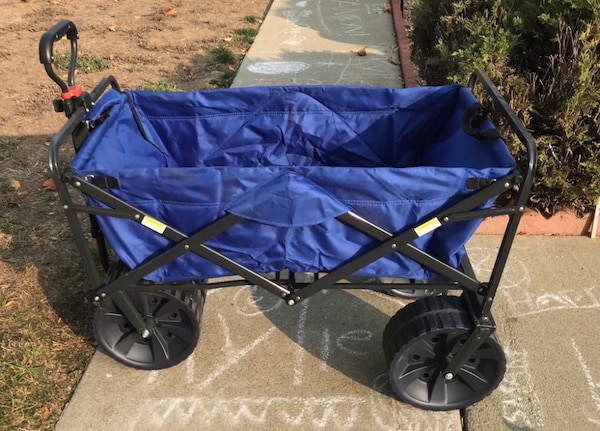 Used Mac Sports Heavy Duty Collapsible Folding All Terrain Utility Beach Wagon Cart For In Livermore Letgo