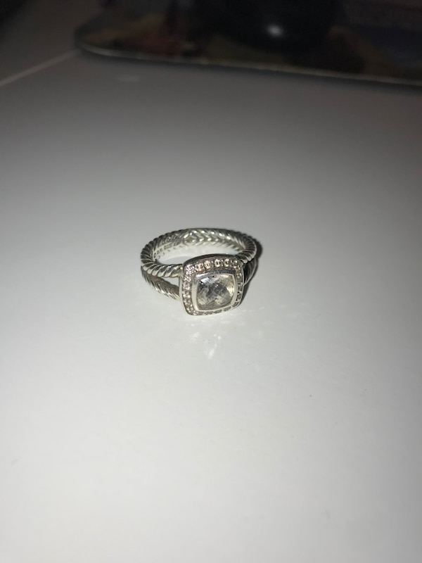 52d06a6af24098 Used Size 7 David yurman ring for sale in Farmers Branch - letgo