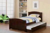 twin twin trundle bed with mattress brand new free Hollywood, 33023