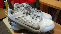 pair of white-and-grey Nike cleats Forest Hill, 21050