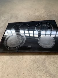 Kitchen Aid stove glass top