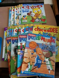 Kids Activity Books (never used) Barrie, L4N 6S4