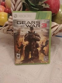 Xbox 360 Gears of War 3 game case Montréal, H9J 1C1