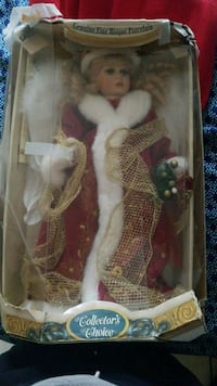 Genuine fine bisque porcelain xmas doll Hyattsville, 20782
