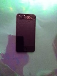 broken black iPhone 5 VANCOUVER