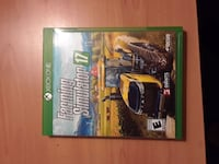 Xbox One farming simulator 17 game case