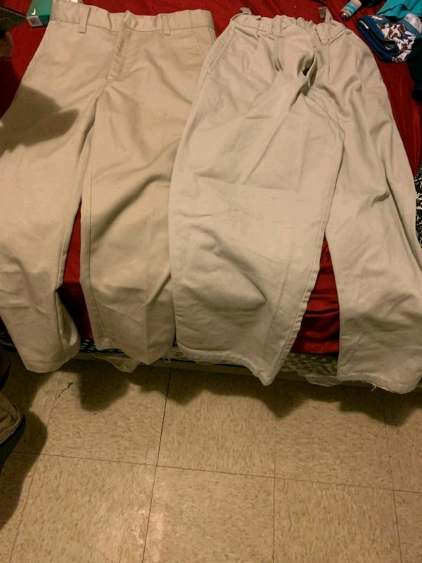white and red zip-up jacket