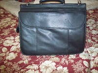 BRAND NEW ALL PURPOSE BLACK LEATHER CARRYING CASE OCALA