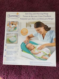 Baby Summer bath sling with warming wings box Burnaby, V5J 0E4