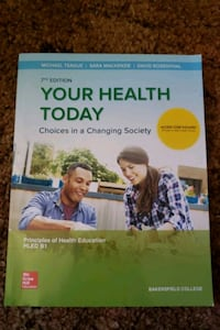 Your Health Today // BC Textbook  Bakersfield, 93307