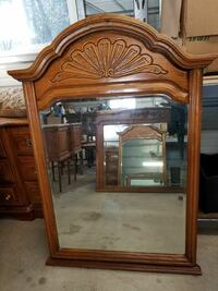 Oak bedroom or wall mirror Redding, 96003