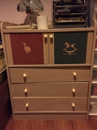 Small dresser with goose and rocking horse Burnaby, V5J 2T6