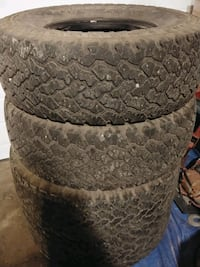 4, LT285 75R16 General Grabber AT2 Tires Winter Rated Calgary, T1Y 5X4