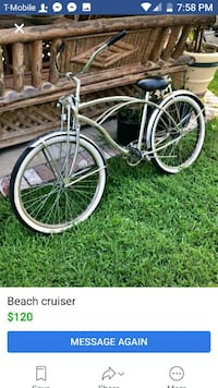 black and gray cruiser bike screenshot Hemet, 92545