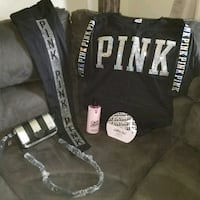 Xs silver bling Pink/ Victoria Secret bundle Dayton, 45424