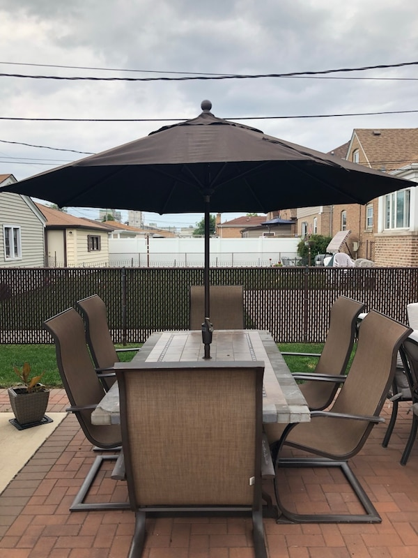 Used Costco Patio Table With Chairs And