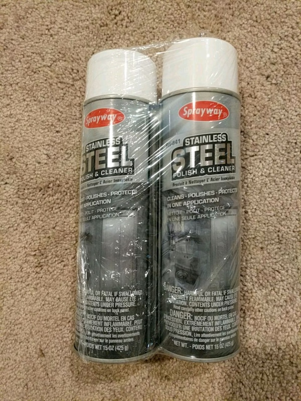 Stainless Steel Cleaner (pack of 6)
