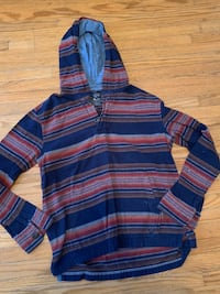 American eagle striped hoodie men's extra small teenager Cambridge, N1R 2H9