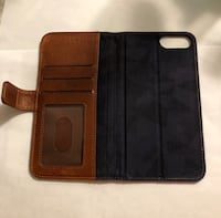Brown Leather Phone Case/Wallet