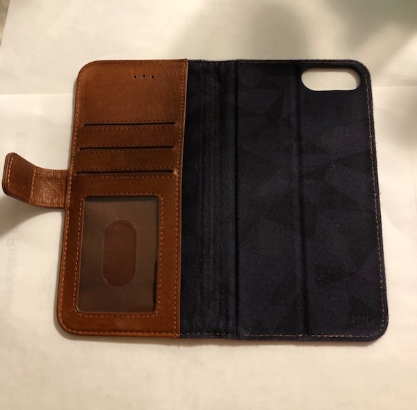 Brown Leather Phone Case/Wallet 0