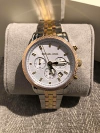 MK6344 - Michael Kors Ritz Chronograph Tricolor-Tone Women's Watch  Markham, L3P