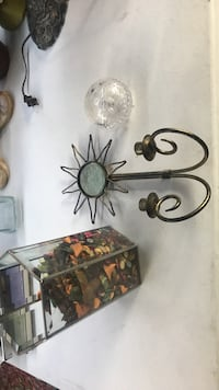 brass steel wall sconce candle holders Salt Lake City, 84105
