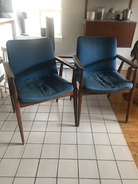 Mid-century style library chairs  Toronto, M6G 3J7