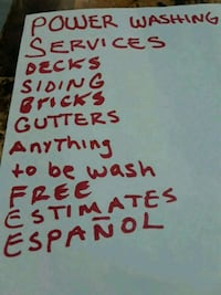 Power washing services   Chicago