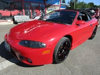 1998 Mitsubishi Eclipse 2dr Conv Spyder GS Auto *RED* RUNS GREAT MUST SEE Milwaukie