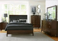 brown wooden bedroom furniture set Stockton, 95203