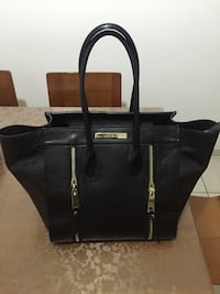 Tote bag in pelle nera di Marc Ellis da donna