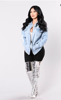 Fashion Nova Denim Jacket  Santa Rosa, 95407