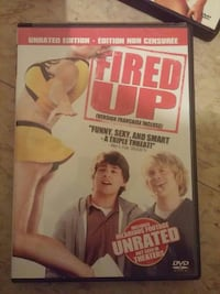 Fired Up Unrated Edition DVD case Renfrew, K7V 3M2