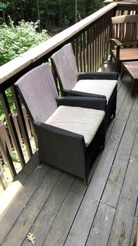 Patio Chairs with Removable Seat Cushons (2 for $40) Reston, 20191