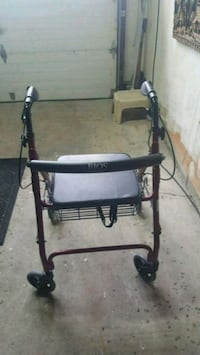 black and gray rollator walker Mississauga, L4Z 1M5