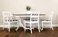 Vintage Duncan Phyfe Style Dining Set (with leaf) Aldie, 20105