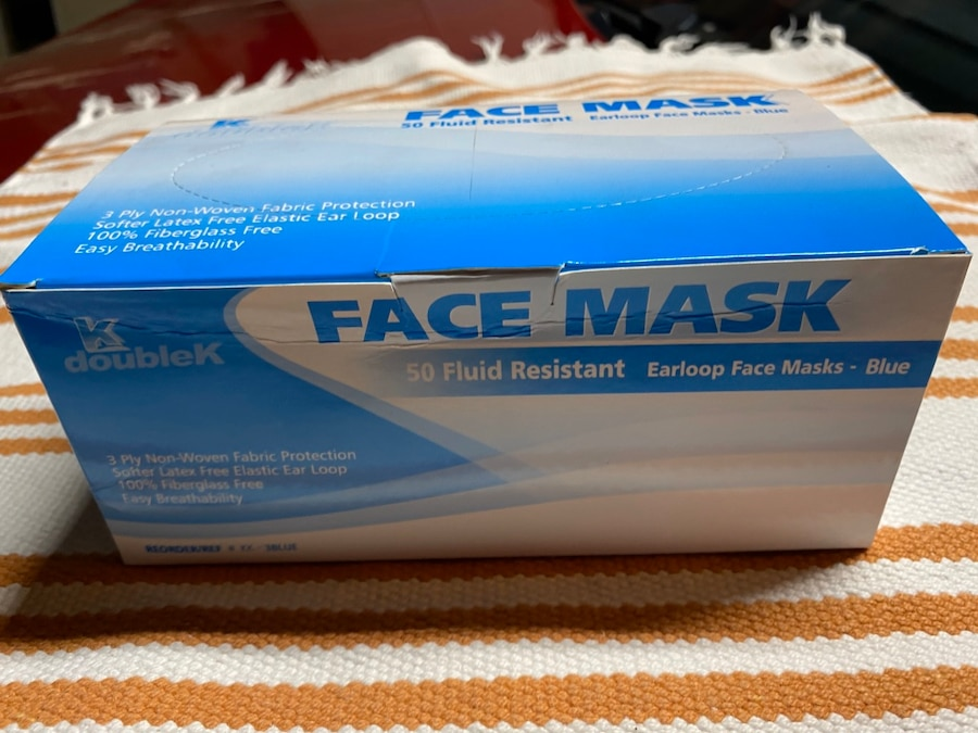 double k surgical mask