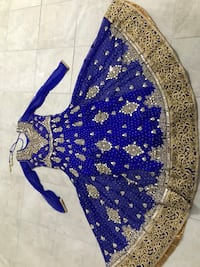 Womens clothes. Indian Style blue dress Toronto
