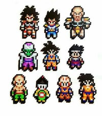 Hama beads Dragon Ball 6112 km