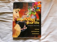 Psychology in Your Life Second Edition California City, 93505