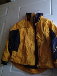 Yellow Columbia Jacket West Lincoln, L0R