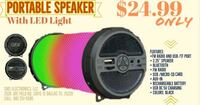 black and green JBL portable speaker 1162 mi