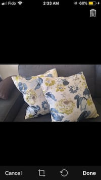 Feather Pillows excellent quality $10 each or Both for $15