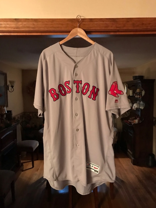 7e381a8bd1f BOSTON RED SOX AUTHENTIC FLEXBASE ON FIELD ROAD JERSEY SIZE: 52 (XXL)