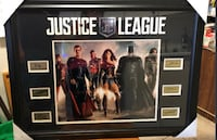 Brand New Framed signed Justice League Picture