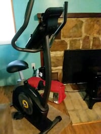 black and red stationary bike Delta, 17314