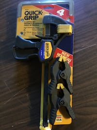 QuikGrip clamping set, brand new, still in packaging . Independence, 64052