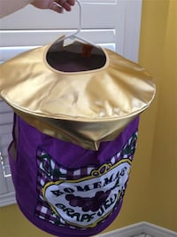 Homemade Grape Jelly Jar costume - Child's one size: ages 4-10
